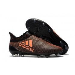 Nuevo Botas de fútbol Adidas X 17+ Purespeed FG Naranja Negro