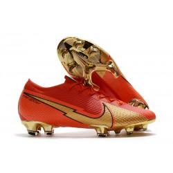 Nike Mercurial Vapor 13 Elite FG ACC Ronaldo CR100 Rojo Oro