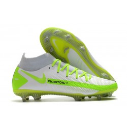 Nike Phantom Generative Texture Elite DF FG Blanco Verde