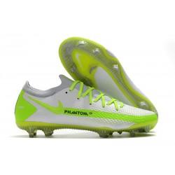 Nike Tacón de Fútbol Phantom GT Elite FG - Blanco Verde