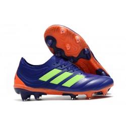 Nuevo Adidas Copa 19.1 FG Zapatillas de fútbol Violeta Verde
