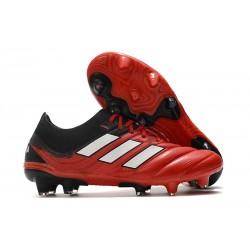 adidas Zapatilla Copa 20.1 FG - Rojo Blanco Negro