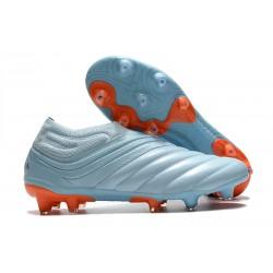 adidas Copa 20+ FG Botas fútbol - Cielo Tinta Azul Royal Signal Coral