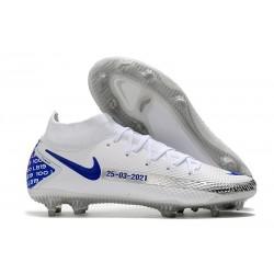 Nike Phantom Generative Texture Elite DF FG Blanco Azul