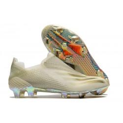 Botas adidas X Ghosted + FG Blanco Oro