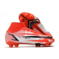 Nike Superfly 8 Spark Positivity CR7 Elite FG Chile Rojo Negro Blanco Naranja