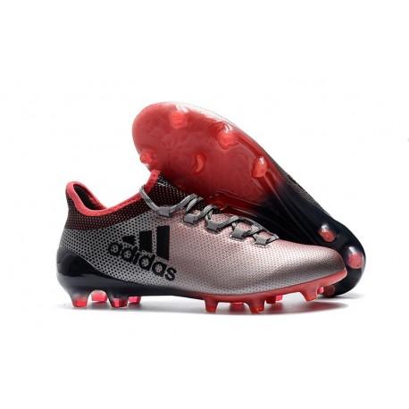 Zapatillas de fútbol Adidas X 17.1 FG Gris Rose Negro
